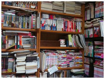 わたしの汚い本棚
