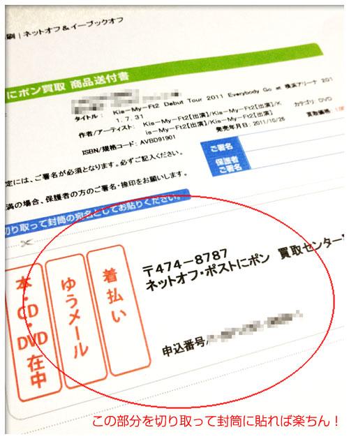 買取レビュー:ネットオフの「ポストにポン買取」を実際に試してみた。